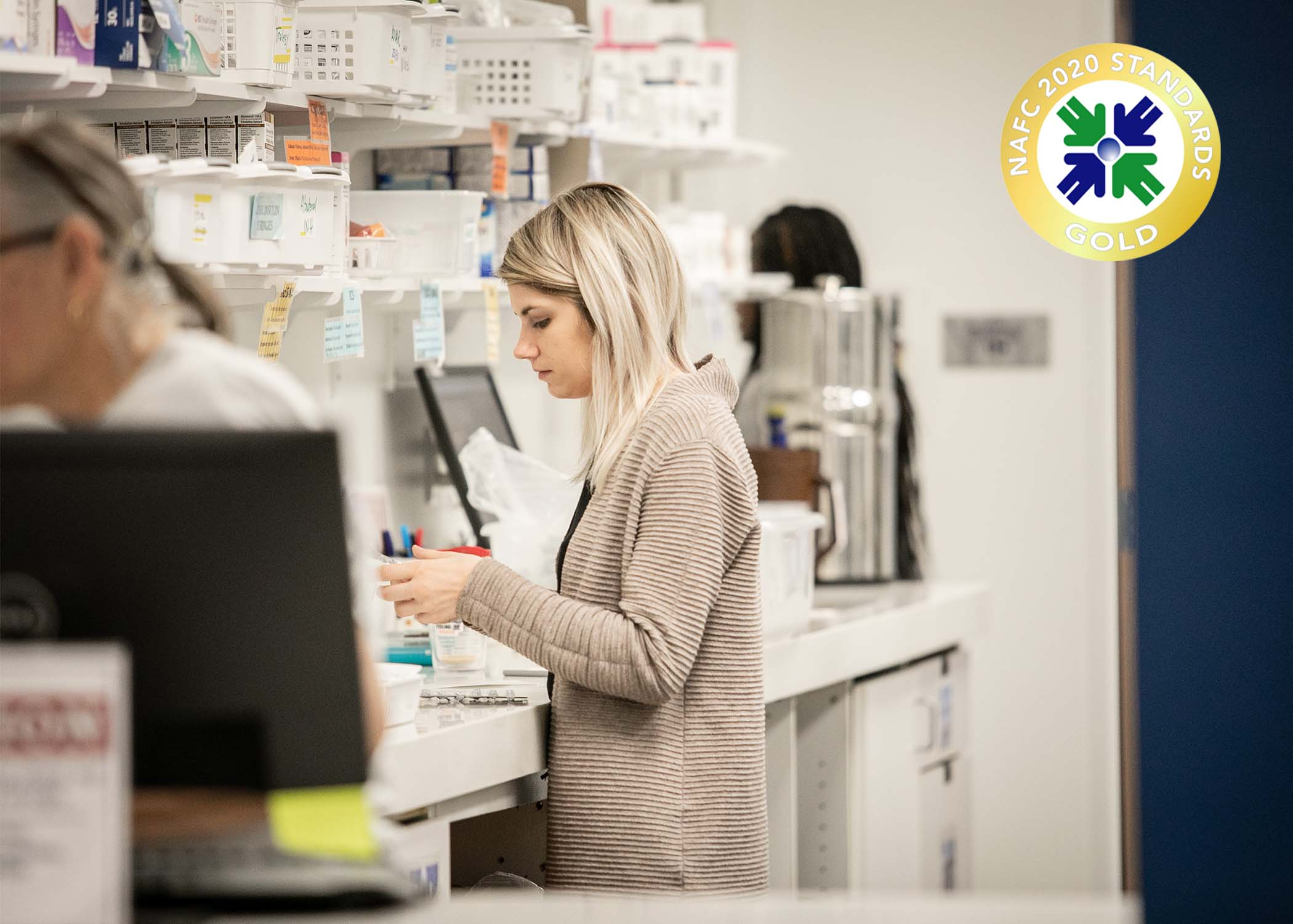 Pharmacy receives Gold Rating